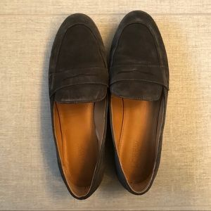 J. Crew Suede penny loafers